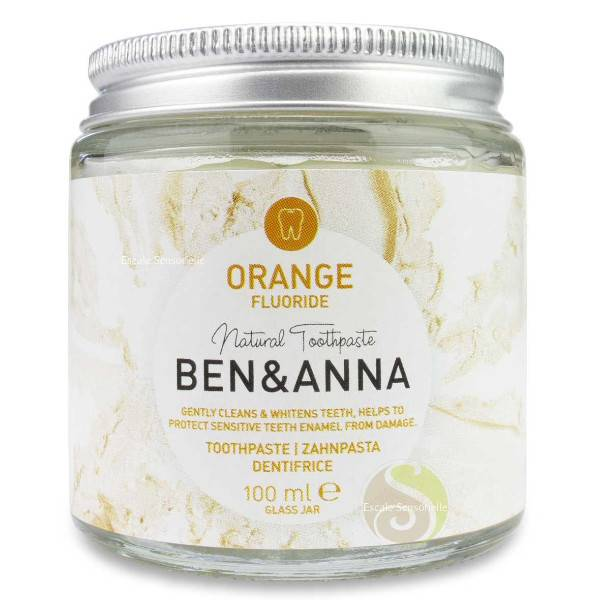 Ben & Anna Dentifrice Orange Avec Fluor 100ml