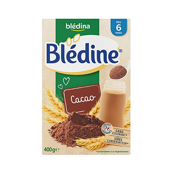 Blédina Blédine Cacao +6m 400g