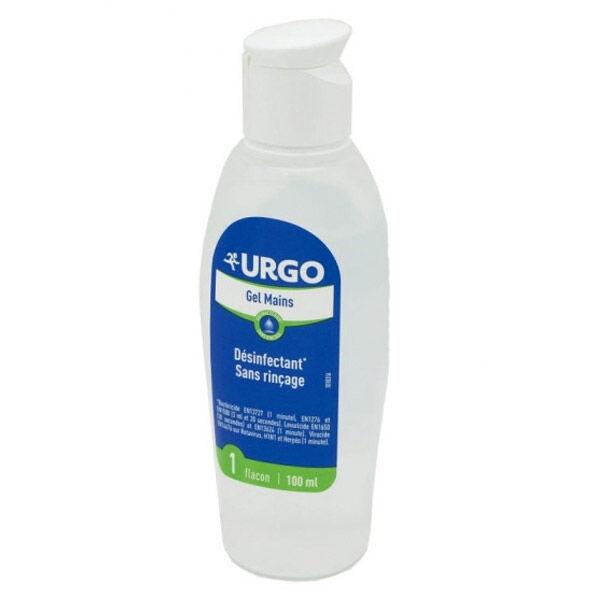 Urgo Premiers Soins Gel Hydroalcoolique Mains Désinfectant 100ml