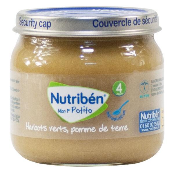 Nutribén Mon Premier Potitos Haricots Verts Pommes de Terre 120g