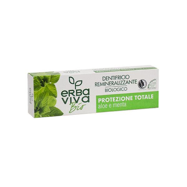 Marvis Erbaviva Dentifrice Reminéralisant Protection Totale Bio 75ml