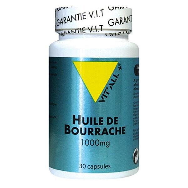 Vit'all+ Huile d'Onagre 1000mg 30 capsules
