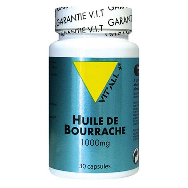 Vit'all+ Huile d'Onagre 1000mg 30 capsules
