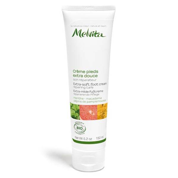 Melvita Les Essentiels Crème Pieds Extra-Douce Bio 150ml