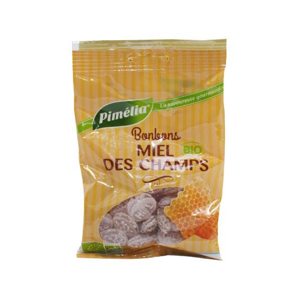 Pimélia Bio Bonbons Miel des Champs 100g