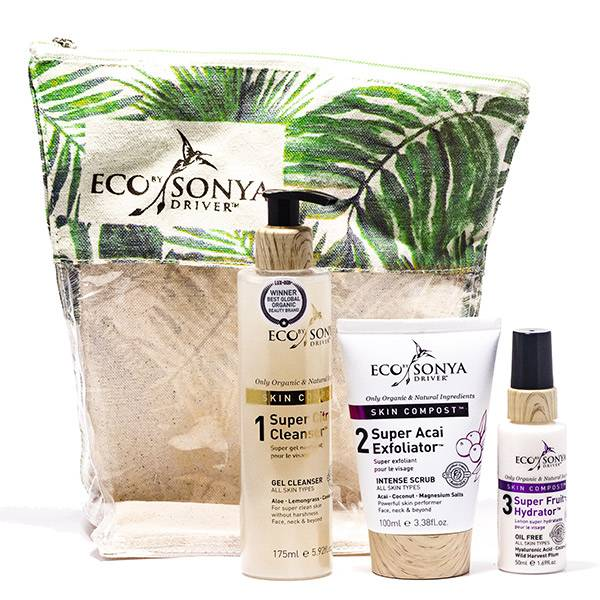 Eco By Sonya Driver Skin Compost Collection Trio Gommage