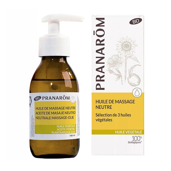 Pranarom Massage Sélection Huile de base naturelle Bio 100ml