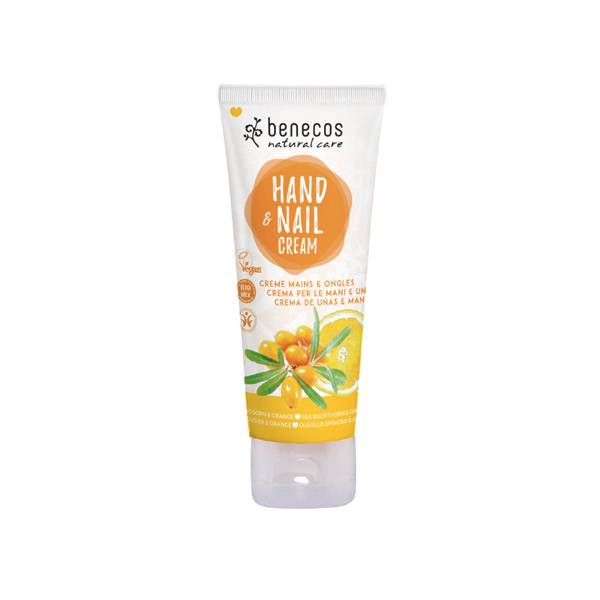 Benecos Crème Mains & Ongles Argousier & Orange 75ml