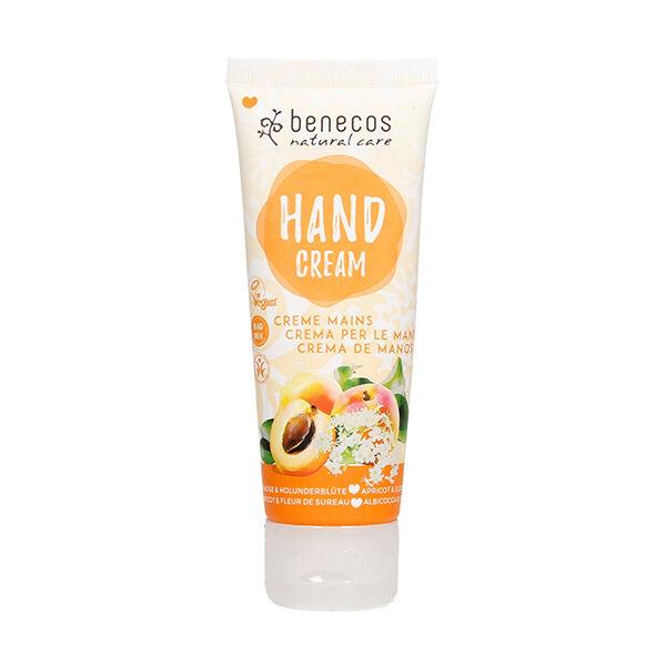 Benecos Crème Mains Abricot & Fleur de Sureau 75ml