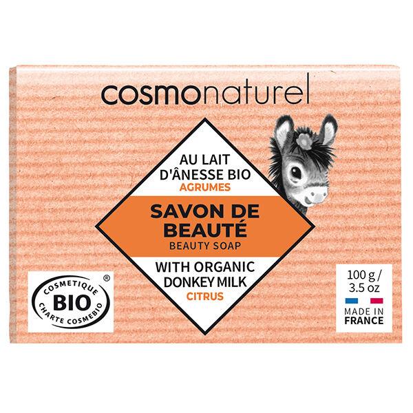 Gravier Cosmo Naturel Savon Lait d'Ânesse Agrumes Bio 100g