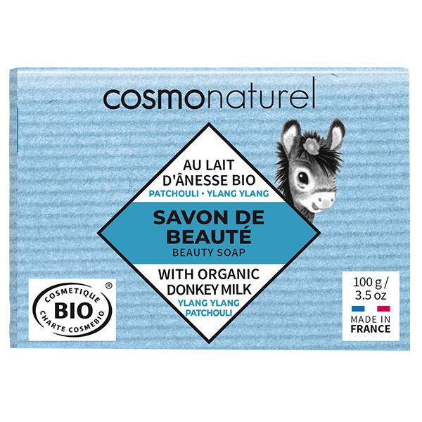 Gravier Cosmo Naturel Savon Lait d'Ânesse Patchouli + Ylang Ylang Bio 100g