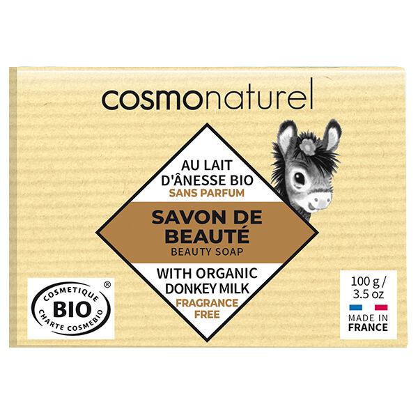 Gravier Cosmo Naturel Savon Lait d'Ânesse Neutre Bio 100g