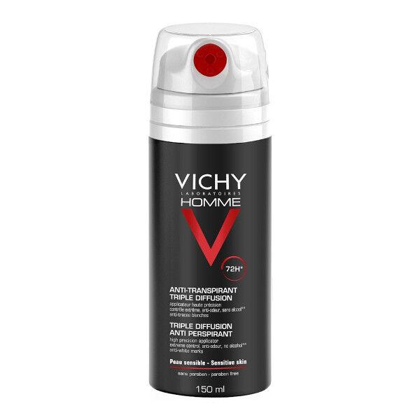 Vichy Homme Déodorant Anti-Transpirant triple diffusion spray 72h 150ml