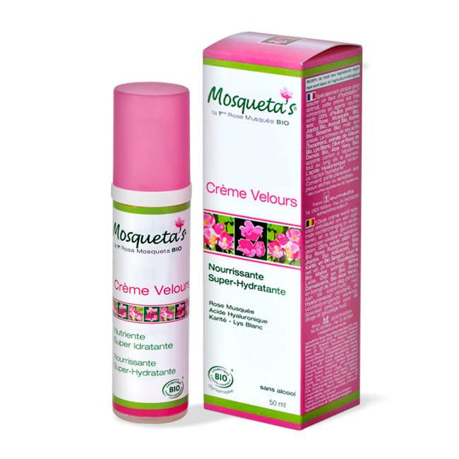 Mosqueta s Mosqueta's Crème Velours Super Hydratante Bio 50ml
