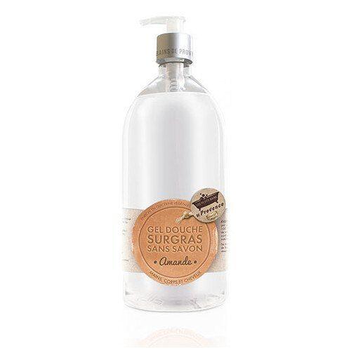Les Petits Bains de Provence Gel Douche Surgras sans savon Amande 1L
