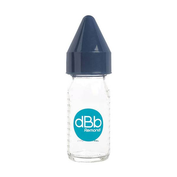 7121004 dBb Remond Biberon Jus de Fruit Régul'Air Verre Marine 110ml