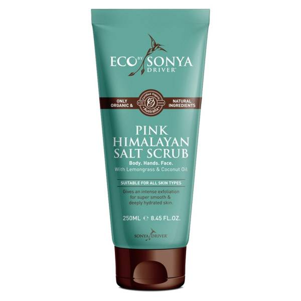 9700030 Eco By Sonya Driver Gommage Corps Sel Rose Himalaya 250ml