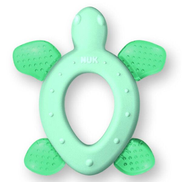 Nuk Développement Anneau de Dentition Réfrigérant +3m Tortue Vert