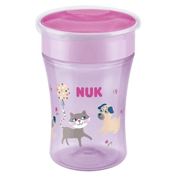 Nuk Magic Cup 360° +8m Rose 230ml