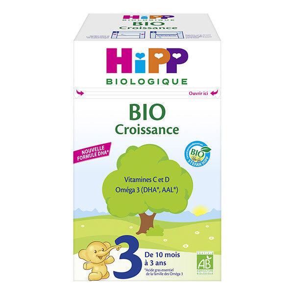 Hipp Croissance 3ème Age Bio Dès 10 mois 700g