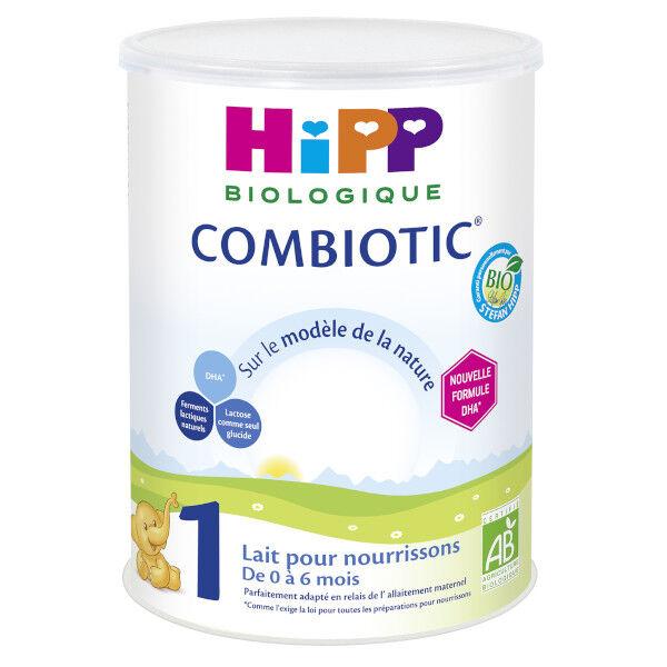 Hipp Bio Lait pour Nourrissons Combiotic 1er Âge 800g
