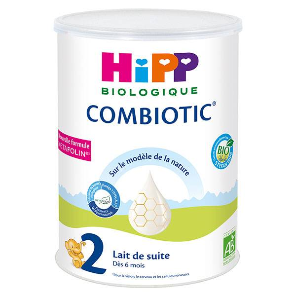 Hipp Bio Lait de Suite Combiotic 2ème Âge 800g