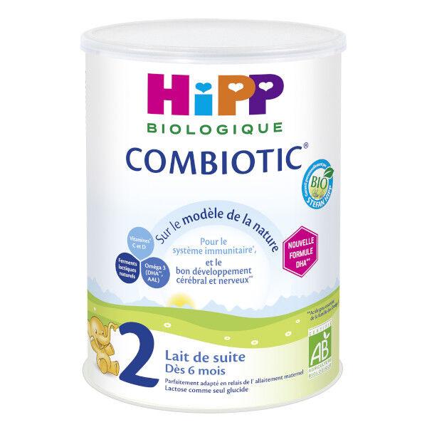 Hipp Bio 2 Combiotic Lait de Suite +6m 800g