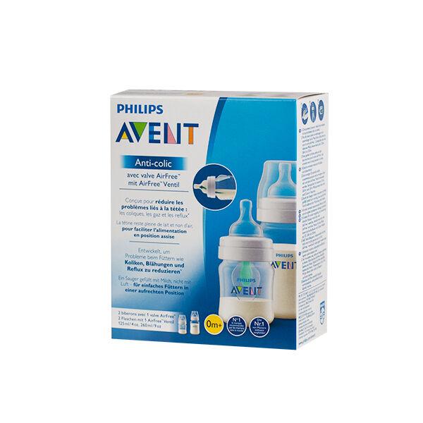 Avent Coffret Biberon Anti-Colic 125ml + 260ml