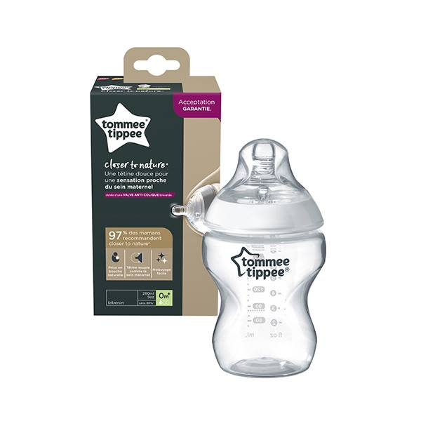 Tommee Tippee Closer To Nature Biberon 260ml