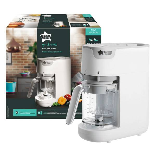 Tommee Tippee Tommee Tippe Quick Cook Mixeur Cuiseur