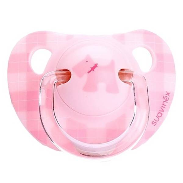 Suavinex Sucette Silicone Physiologique 0-6m Scottish Rose