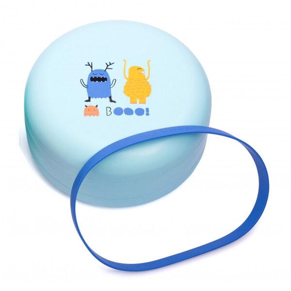 Suavinex Set d'Assiettes Combinables +4m Bleu