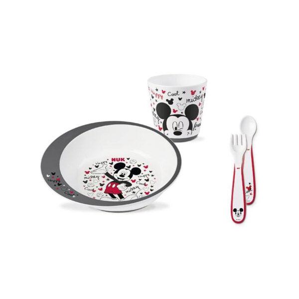 Nuk Coffret Vaisselle Mickey Mouse