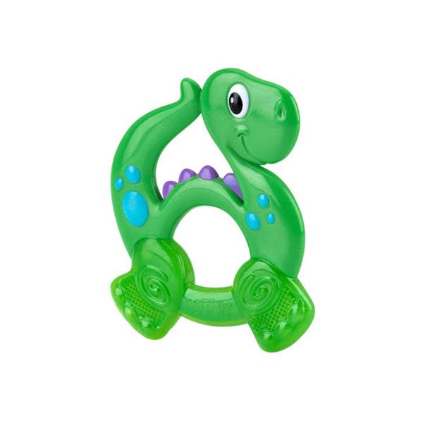 Nuby Anneau de Dentition Dinosaure +4 mois