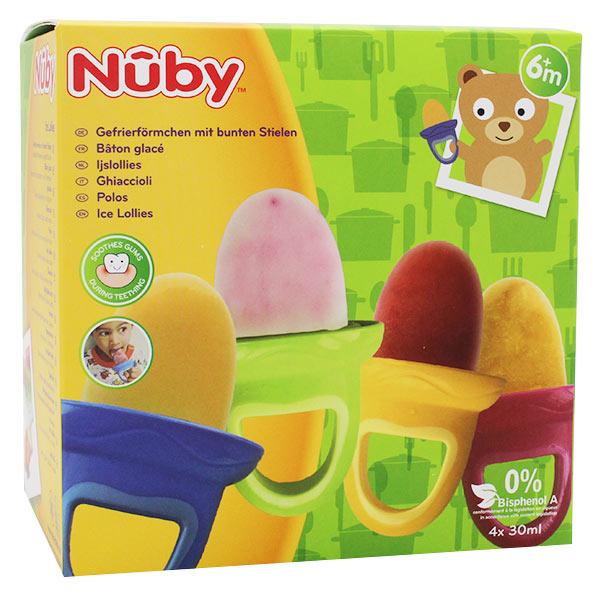 Nuby Moule à Glace Garden Fresh +6m