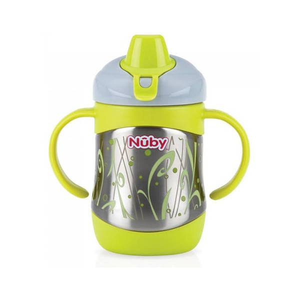 Nuby Thermo Inox Pot de Conservation Bec Souple 270ml