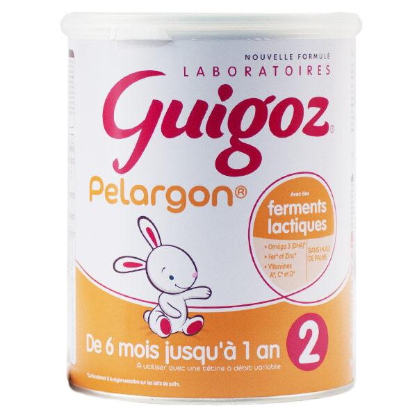 Guigoz Pelargon 2ème Age 800g