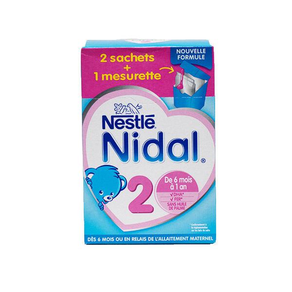 Nidal Lait en Poudre 2ème Age 700g