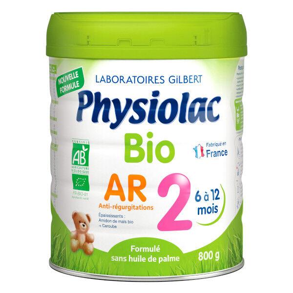 Physiolac Bio Lait de Suite AR 2ème Age 800g