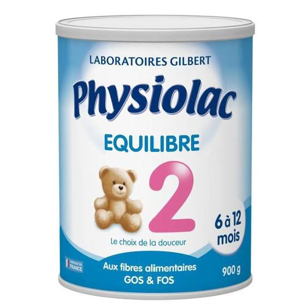Physiolac Equilibre Lait 2eme Age 900g