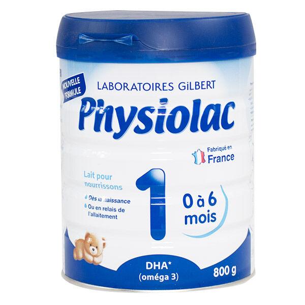 Physiolac Lait 1er Age 800g