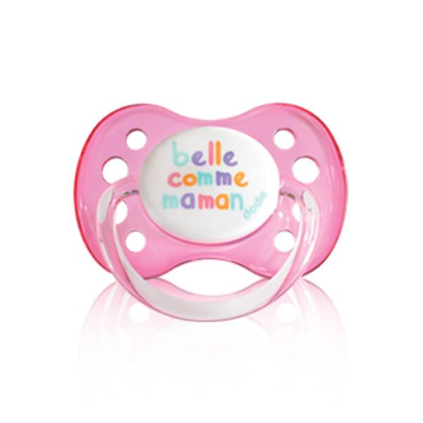 Dodie Sucette Anatomique Silicone Belle Comme Maman Rose 0-6m A20