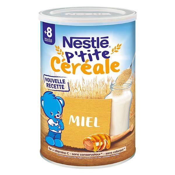 Nestlé Céréales Nestlé P'tite Céréale Saveur Miel 400g
