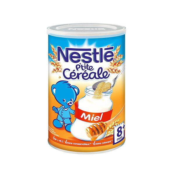 Nestlé P'tite Céréale Saveur Miel 400g