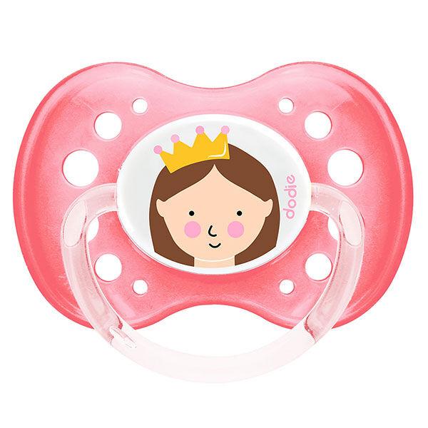 Dodie Sucette Anatomique +18m Princesse