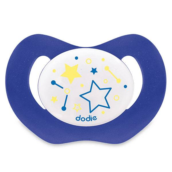 Dodie Sucette Physiologique Nuit +18m Etoile Bleu