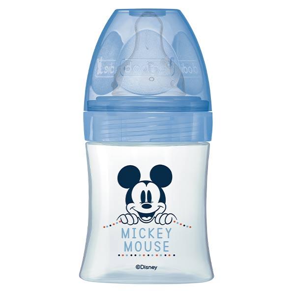 Dodie Biberon Initiation+ Anti-Coliques 3 Vitesses +0m Bleu Mickey 150ml