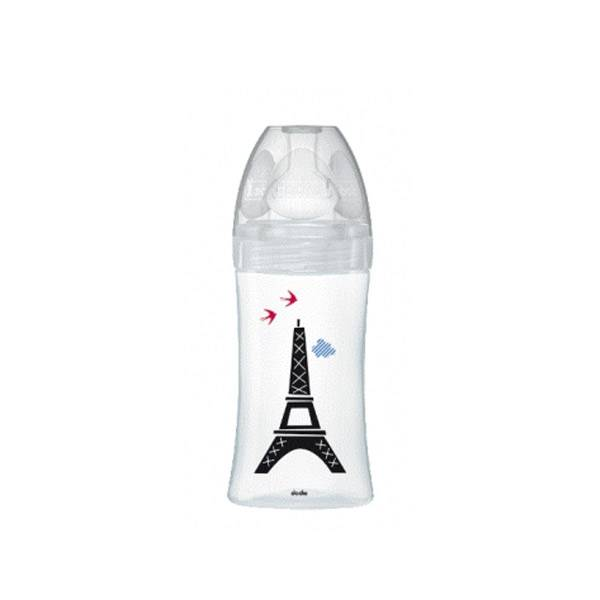 Dodie Biberon Sensation+ Anti-Coliques en Verre +0m Paris 270ml