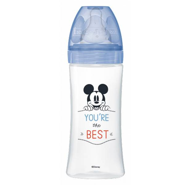 Dodie Biberon Initiation+ Mickey You're the Best +6m 330ml