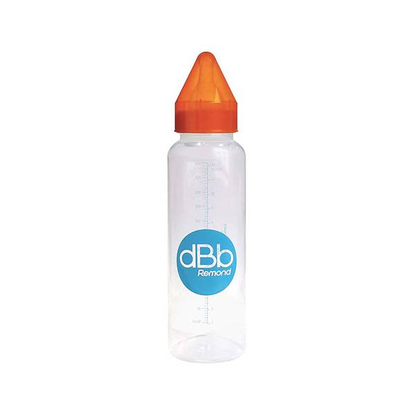 dBb Remond Biberon Régul'Air Orange Translucide 360ml